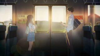 La comunicazione silenziosa in treno, Koe No Katachi, luce, treno